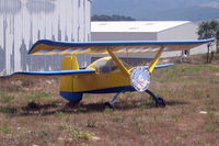 Calvi Sainte-Catherine Airport - Entrance to the airfield, the aircraft has since been destroyed by fire - by BTT