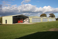 X5FB Airport - New hangars at Fishburn Airfield UK, October 2012. - by Malcolm Clarke