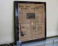 Santa Paula Airport (SZP) - Aviation Museum of Santa Paula. 1930 period newspapers with new airport news stories. Airport Dedication, August 9-10, 1930. Learn to Fly at Santa Paula Airport. - by Doug Robertson