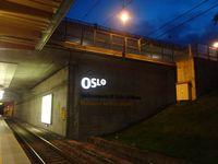 Oslo Airport, Gardermoen, Gardermoen (near Oslo), Akershus Norway (ENGM) - Sentralstasjon (Central Station) Expressway Entrance of the Gardermoen Oslo Airport  - by Jonas Laurince