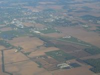 Williams County Airport (0G6) - Looking NW from 4500' - by Bob Simmermon