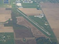Williams County Airport (0G6) - Looking west at 4500' - by Bob Simmermon