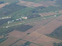 Defiance Memorial Airport (DFI) - Looking SW at 4500' - by Bob Simmermon