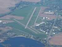Branch County Memorial Airport (OEB) - Looking SW from 4500' - by Bob Simmermon