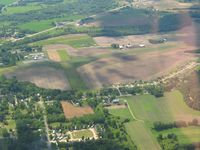 Richland Airport (93C) - Looking west from 3000' - by Bob Simmermon