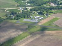 Richland Airport (93C) - Looking SW - by Bob Simmermon
