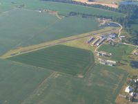 Franklin Flying Field Airport (3FK) - Looking SSE - by Bob Simmermon