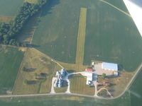 Foltz Farm Airport (93IN) - Looking south - by Bob Simmermon