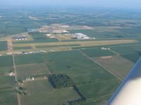 Shelbyville Municipal Airport (GEZ) - Looking west - by Bob Simmermon