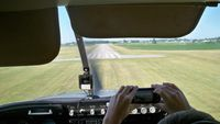 Port Bucyrus-crawford County Airport (17G) - Final RWY 22 at Bucyrus, Ohio - by Jerry Allonas