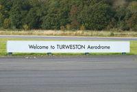 Turweston Aerodrome Airport, Turweston, England United Kingdom (EGBT) - always a warm welcome at Turweston aerodrome - by Chris Hall