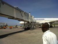 Port-au-Prince International Airport (Toussaint Louverture Int'l), Port-au-Prince Haiti (MTPP) - Boarding at Air France at the Toussaint Louverture International Airport of Port-au-Prince - by Jonas Laurince