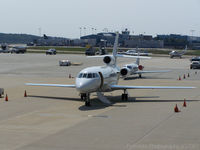 Raleigh-durham International Airport (RDU) - Falcon 50 - by J.B. Barbour