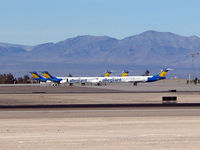 Mc Carran International Airport (LAS) - Allegiant Airways / Which way did he go? - by SkyNevada