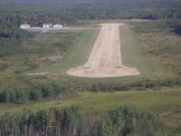 Bloodvein River Airport - Final for runway 36