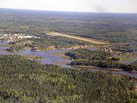 Bloodvein River Airport - Bloodvein Airport looking East - by Tim Kalushka