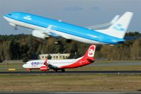 Tegel International Airport (closing in 2011), Berlin Germany (EDDT) - Traffic on both runways 26L and 26R. - by Holger Zengler
