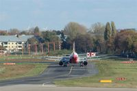 Tegel International Airport (closing in 2011), Berlin Germany (EDDT) - Lining up for take-off on rwy 26L..... - by Holger Zengler