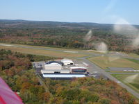 Beverly Municipal Airport (BVY) - On the right turn out from runway 27 en-route to Portland, Maine. - by Samuel D.