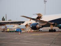 Bordeaux Airport, Merignac Airport France (LFBD) - MAERSK au parking Fox - by Jean Goubet-FRENCHSKY