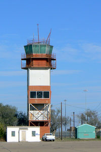 Big Spring Mc Mahon-wrinkle Airport (BPG) - The old Webb Air Force Base tower at Big Spring, TX - by Zane Adams