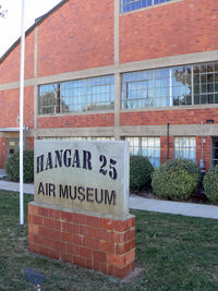 Big Spring Mc Mahon-wrinkle Airport (BPG) - Hanger 25 Museum at Big Spring, TX - by Zane Adams