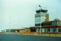 New Castle Airport (ILG) - Terminal Building and Tower at New Castle Airport, New Castle, DE - by scotch-canadian