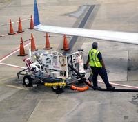 Hartsfield - Jackson Atlanta International Airport (ATL) - Refueling ops ATL - by Ronald Barker