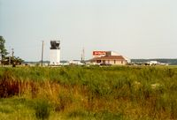 Coastal Carolina Regional Airport (EWN) - Tower and FBO at Coastal Carolina Regional Airport (previously named Craven County Regional Airport) at New Bern, NC - by scotch-canadian