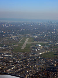Toronto/Downsview Airport (Downsview Airport) - Taken from A 340-600 D-AIHI - by Micha Lueck