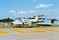 Orange County Airport (MGJ) - Beechcraft King Air at Orange County Airport, Montgomery, NY - by scotch-canadian