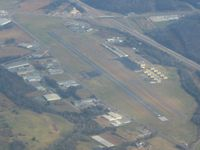 Isbell Field Airport (4A9) - Looking NE from 6000' - by Bob Simmermon