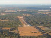 Oak Tree Landing Airport (6J8) - Looking SE from 3000' - by Bob Simmermon
