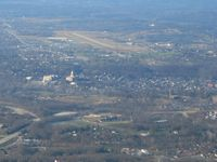 Capital City Airport (FFT) - Looking SW from about 5 miles - by Bob Simmermon