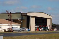 Bartow Municipal Airport (BOW) - Hangar at Bartow Municipal Airport, Bartow, FL  - by scotch-canadian