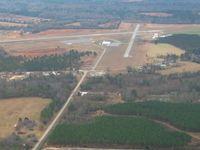 Cochran Airport (48A) - Looking down RWY 5 - by Bob Simmermon