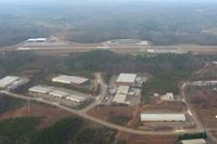 Cherokee County Airport (CNI) - Approaching from the SE at pattern altitude. - by Bob Simmermon