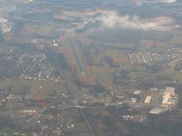 Campbell County Airport (JAU) - Looking east from 6000' - by Bob Simmermon