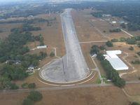 Jumbolair-greystone Airport (17FL) - Looking down RWY 36 - by Bob Simmermon