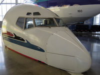 Snohomish County (paine Fld) Airport (PAE) - B 727 nose at the Future of Flight exhibition - by Micha Lueck