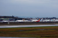 Snohomish County (paine Fld) Airport (PAE) - So many beautiful liveries - where to look first? - by Micha Lueck