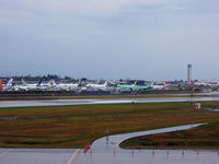 Snohomish County (paine Fld) Airport (PAE) - Looks like chaos, but it's not :) - by Micha Lueck