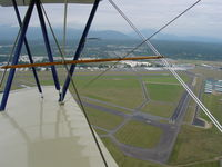 Arlington Municipal Airport (AWO) - Taken from Travelair N9024  - by Airfieldbum