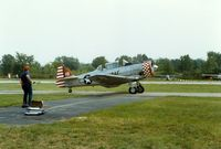 Sussex Airport (FWN) - North American AT-6 Texan at the 1988 Sussex New Jersey Air Show, Sussex, NJ - by scotch-canadian