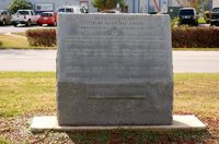 Leesburg International Airport (LEE) - 40th Anniversary Granite Marker at Leesburg International Airport, Leesburg, FL  - by scotch-canadian