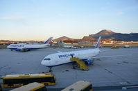 Salzburg Airport, Salzburg Austria (LOWS) - Two Tranaero widebodies!!! - by AustrianA330