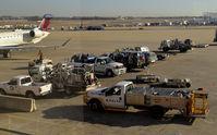 Hartsfield - Jackson Atlanta International Airport (ATL) - Atlanta  Ramp activity - by Ronald Barker