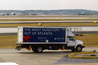 Hartsfield - Jackson Atlanta International Airport (ATL) - Delta truck - by Ronald Barker