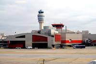 Hartsfield - Jackson Atlanta International Airport (ATL) - New structure - by Ronald Barker