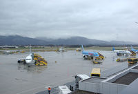 Salzburg Airport, Salzburg Austria (LOWS) - one more rainy day - by Andreas Ranner